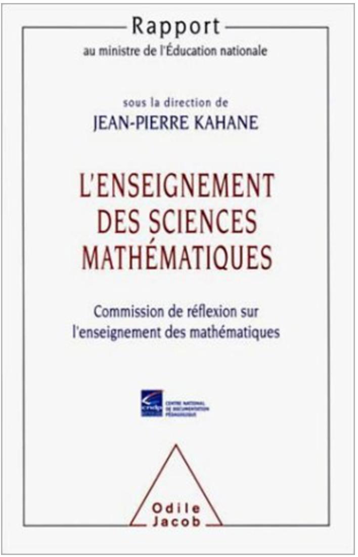 Rapport Kahane