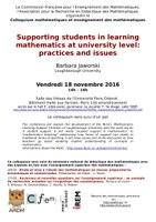 Colloquium mathématiques et enseignement des mathématiques