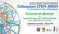 Colloquium CFEM-ARDM 2018