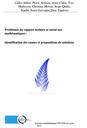 Problèmes du rapport scolaire et social aux mathématiques : identification des causes et propositions de solutions
